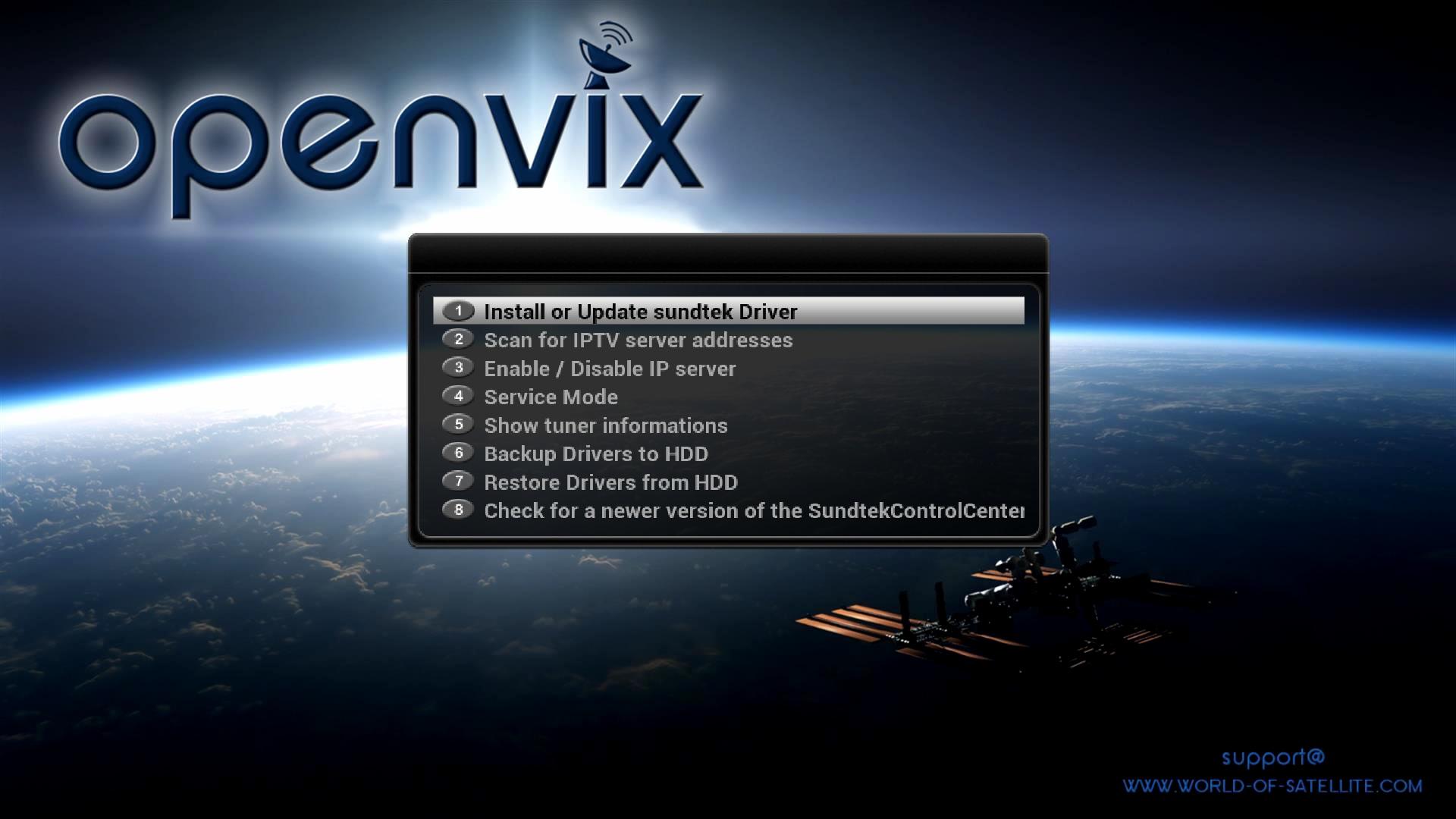 How to install Sundtek USB tuners using Sundtek Control Center